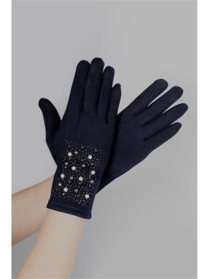 Перчатки Sophie Ramage. Цвет: синий