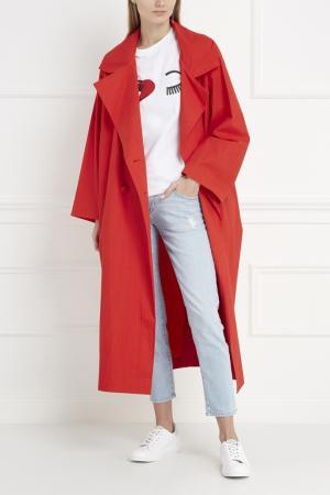 Хлопковое пальто Inshade. Цвет: красный