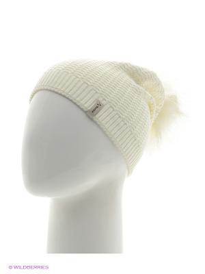 Шоу Беркле шапка женская с помпоном Berkle. Цвет: молочный