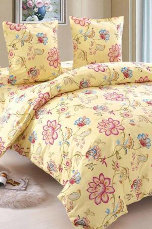 Постельное белье Rita 1,5 сп. Amore Mio. Цвет: желтый, бордовый
