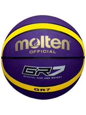 Мяч Molten. Цвет: синий, желтый
