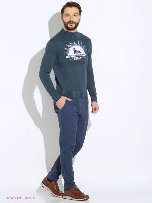 Джемпер MAER. Цвет: серо-голубой
