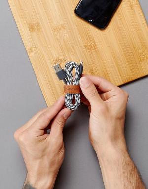 Native Union Зарядный кабель для iPhone Premium, 1,2 м. Цвет: мульти