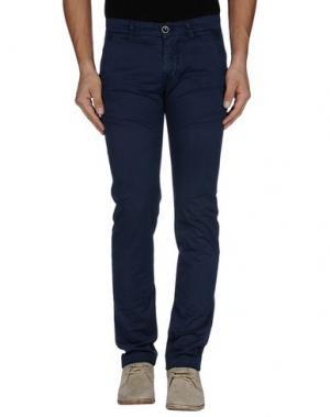 Повседневные брюки RE-HASH. Цвет: темно-синий