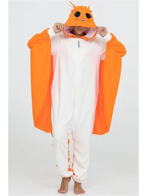 Кигуруми Футужама. Цвет: оранжевый, белый