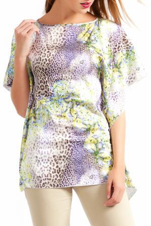 Блуза Sassofono. Цвет: желтый