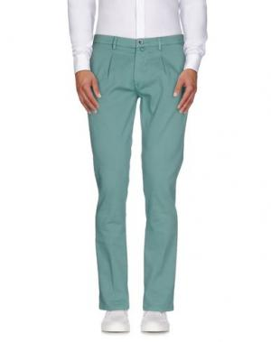 Повседневные брюки BARBATI. Цвет: зеленый