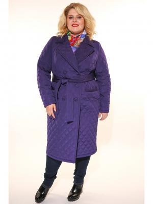 Пальто Jetty-plus. Цвет: темно-фиолетовый