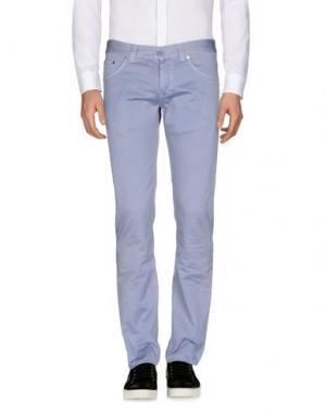 Повседневные брюки DONDUP. Цвет: пастельно-синий