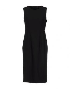 Платье до колена HANNY DEEP. Цвет: черный