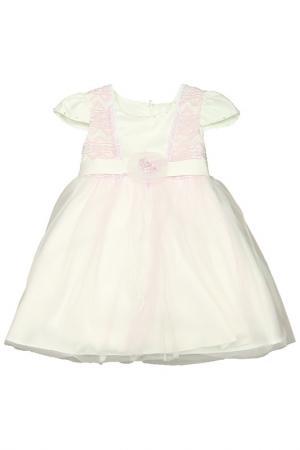 Платье Vitacci. Цвет: кремовый