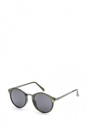 Очки солнцезащитные Topman. Цвет: зеленый