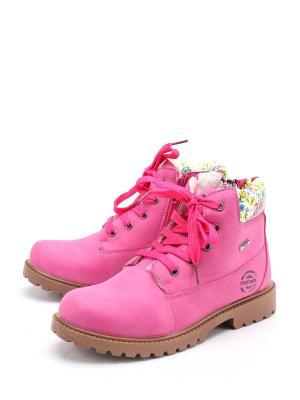 Ботинки PATROL. Цвет: фуксия