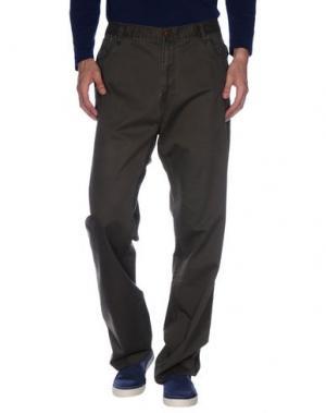 Повседневные брюки MAVERICK. Цвет: хаки