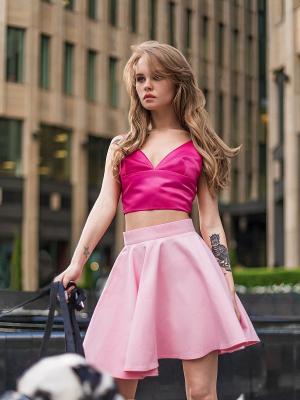 Топ C.H.I.C.. Цвет: розовый
