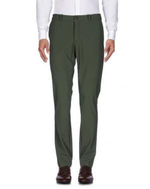 Повседневные брюки RRD. Цвет: зеленый-милитари