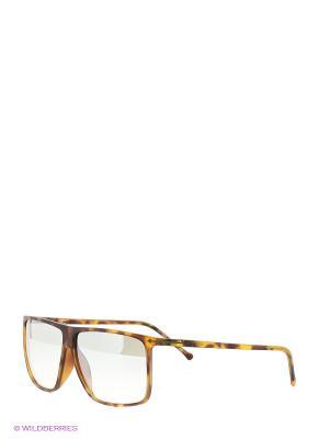Солнцезащитные очки Opposit. Цвет: желтый, коричневый