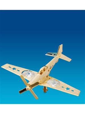 Фигурка Самолет-истребитель Юнион. Цвет: золотистый