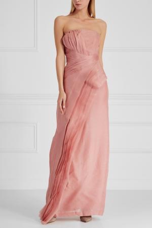 Платье J. Mendel. Цвет: розовый