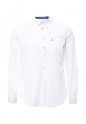 Рубашка DRYWASH. Цвет: белый