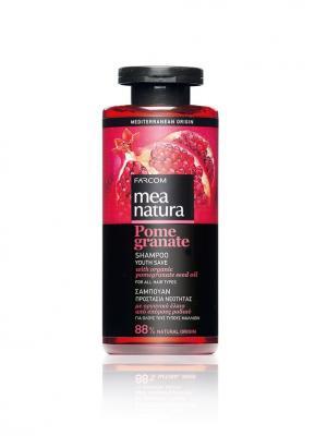 Гранатовый шампунь Youth Save для всех типов волос. Farcom Mea Natura. Цвет: бежевый