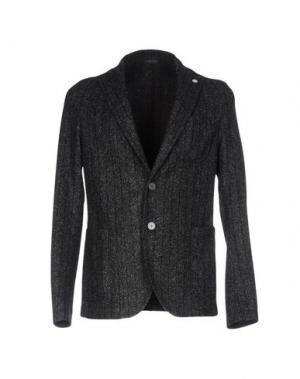 Пиджак MANUEL RITZ. Цвет: свинцово-серый