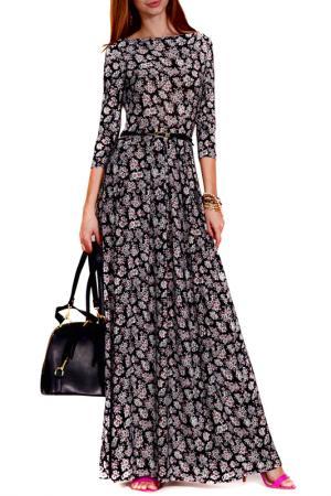 Платье FRANCESCA LUCINI. Цвет: незабудки
