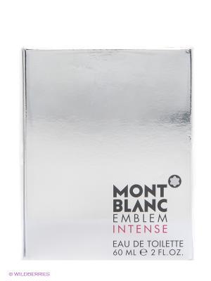 Парфюмерная вода MONTBLANC EMBLEM INTENSE FOR MEN 60 ML. Цвет: прозрачный