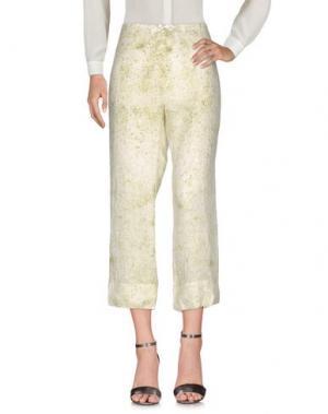 Повседневные брюки DOSA. Цвет: светло-зеленый
