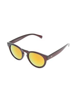 Очки солнцезащитные Gusachi. Цвет: черный, желтый