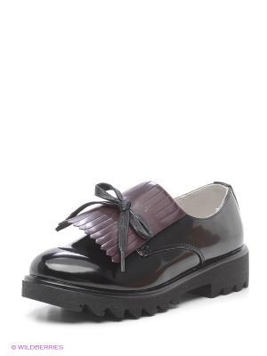 Туфли Болеро. Цвет: черный, бордовый