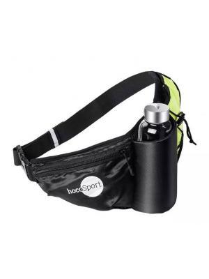 Спортивная сумка Hoco Kettle Pockets Black. Цвет: черный, салатовый