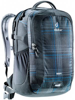 Рюкзак Deuter. Цвет: черный, голубой