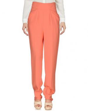 Повседневные брюки EMANUEL UNGARO. Цвет: лососево-розовый