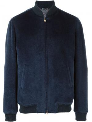 Куртка-бомбер Etro. Цвет: синий