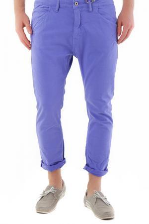 Pants 525. Цвет: blue purple