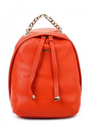 Рюкзак Furla. Цвет: оранжевый