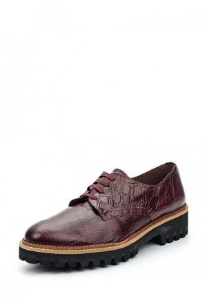 Ботинки La Coleccion. Цвет: бордовый