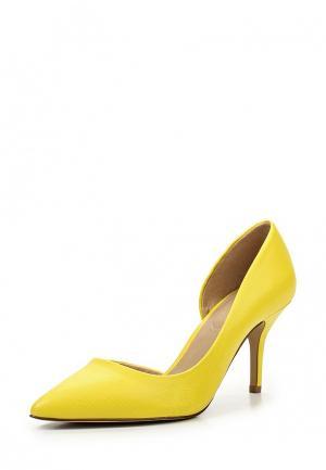 Туфли Aldo. Цвет: желтый