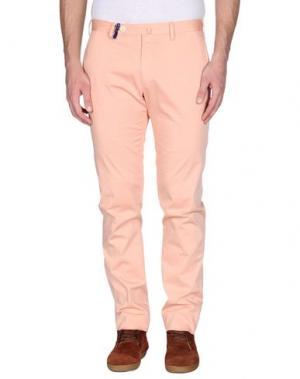 Повседневные брюки G.T.A. MANIFATTURA PANTALONI. Цвет: лососево-розовый