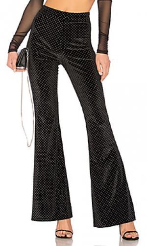 Расклешенные брюки kelly I.AM.GIA. Цвет: черный