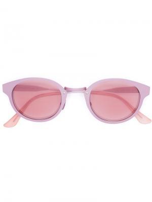 Солнцезащитные очки Synthesis Retrosuperfuture. Цвет: розовый и фиолетовый