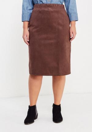 Юбка Sparada. Цвет: коричневый