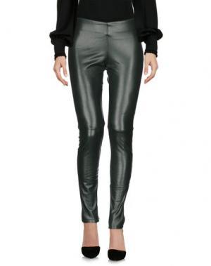Повседневные брюки DRY LAKE.. Цвет: темно-зеленый
