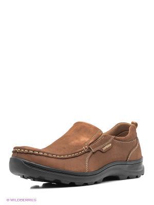 Ботинки ANDRE KLEMA. Цвет: темно-коричневый