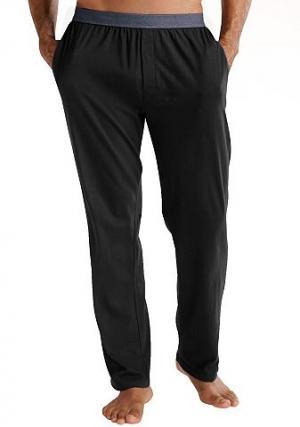 Домашние брюки LE JOGGER. Цвет: черный