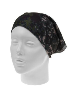Повязка на голову Infiniti. Цвет: хаки, зеленый, коричневый
