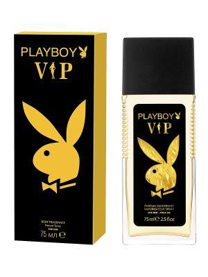 Парфюмерная вода Playboy VIP Male. Цвет: прозрачный
