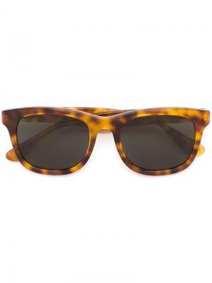 Солнцезащитные очки Wolfgang Han Kjøbenhavn. Цвет: коричневый