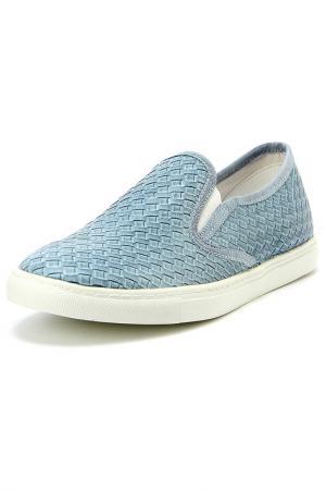 Туфли закрытые Keddo. Цвет: голубой
